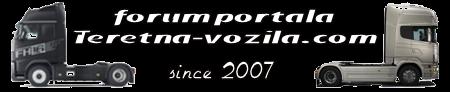 Forum portala Teretna-vozila.com - kamoni, njihovi vozači i prijevoz
